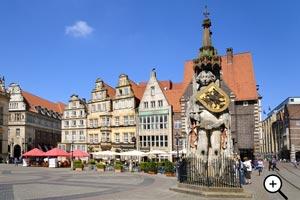 Bremer Markt mit Roland