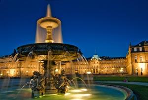 Brunnen am Schlossplatz